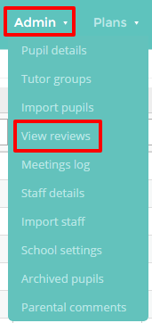 View review buttons